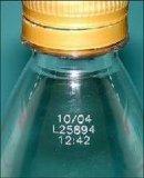 Botella de plástico Material metaloide marcadora láser máquina láser de CO2 precio de fábrica