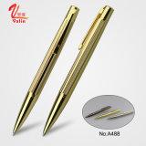新しい販売法のデザインによってカスタマイズされるローズの金の金属球のペン