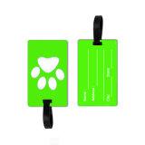 Preiswertes Gepäck-Marke Kurbelgehäuse-Belüftung für das Reisen, kundenspezifische Qualität weiche Belüftung-Gepäck-Marke, lustige Gepäck-Marke/Gepäck-Marke