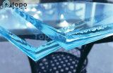 Vetro architettonico della lamiera piana del galleggiante del ferro basso ultra chiaro di Wholese 19mm (UC-TP)