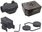 Vecteur Maverick optique 1x22 de la chasse réflexe Riflescope Red Dot Sight avec carte de montage 21mm Qd Picatinny Weaver Mont Red Dot 3MOA