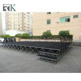 Sistema de la etapa vertical portátil plegable para el concierto evento mostrar