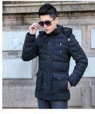 Новый стиль моды мужчин зимние куртки обивки