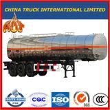 3 трейлер нефтяного танкера топливного бака корабля Axles 42000L специальный для сбывания