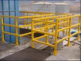 Raccords de la main courante de PRF/Rambarde Profils/Composants de tuyau//fibre de verre