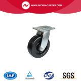 6 Zoll-Schwenker-Hochtemperaturwiderstand-phenoplastische Fußrolle
