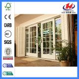 L'intérieur de l'intérieur moderne de meilleures portes coulissantes en verre (JHK-G22)