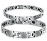De gezonde Magnetische Juwelen van het Roestvrij staal van Armbanden & van Armbanden voor de Armband van het Paar van de Vrouwen van Mannen