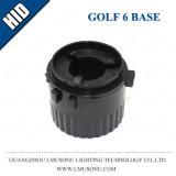 Base OCULTADA socket del coche para el golf 6 Touran H7