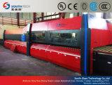 Linha de produção lisa horizontal do vidro temperado de Southtech (TPG)