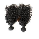 卸し売りインドの自然な人間の毛髪は100%加工されていないRemyのバージンの毛を束ねる