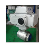 Water Treatment를 위한 스테인리스 Steel Pneumatic Control Actuator Ball Valve