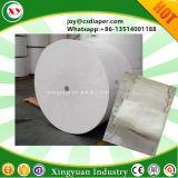赤ん坊のおむつの作成のためのAlibaba中国の綿毛のパルプの原料