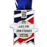 Medalla de encargo personalizada del deporte para Escocia BRITÁNICA