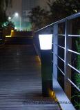 Lumière solaire de poteau d'amarrage de DEL pour le jardin