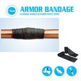 Bandagem de Reparo de Vazamento do tubo de PVC Adesivo de 10cm 3,6M tubo preto Armor Fita de Finalização