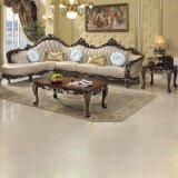 Sofà di cuoio reale per la mobilia del salone (812)