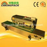 De Verzegelende Machine van de Plastic Zak semi-Automastic/de Horizontale Verzegelende Machine van het Type