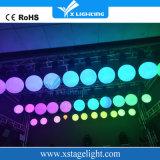 LED 드는 색깔 공 DMX LED 활동적인 구체 윈치 빛