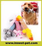동물성 모양 연약한 개 선물을%s 견면 벨벳에 의하여 채워지는 애완 동물 밧줄 장난감