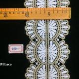 garniture crantée symétrique de lacet de configuration de la géométrie de 11cm, bande Hme854 de garniture de Tulle