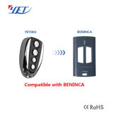 Télécommande universelle compatible Beninca pour passer de 433 MHz