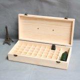 Rectángulos de madera del compartimiento para la botella de petróleo esencial