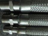 Boyau de métal flexible de l'acier inoxydable 304 avec des raccords de TNP