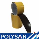 El doble echó a un lado cinta adhesiva del poliester negro