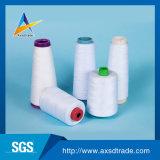 Закрученная кольцом резьба вышивки ткани полиэфира для соткать и вязать