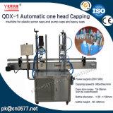 Una macchina di coperchiamento capa automatica Qdx-1 per la crema per il corpo