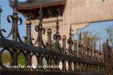 Résidentiel décoratifs attrayants de haute qualité industrielle de clôtures en acier galvanisé