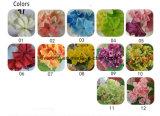 Künstliche PU-Blumen-reale Notekünstliche blaue Großhandelshydrangeasroter Hydrangea für Hochzeits-Dekoration