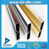 Profil en aluminium de polissage pour la construction de matériau de construction