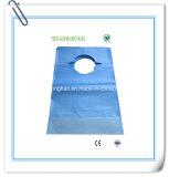 Babero laminado papel disponible del PE para el restaurante
