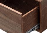 Spätestes modernes Wohnzimmer-hölzerner Furnier-Blatt Fernsehapparat-Standplatz für Verkauf