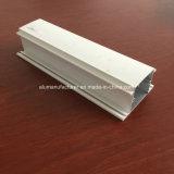 Quadrat, rundes, unterschiedliches Aluminiumlegierung-Strangpresßling-Profil für Tür und Fenster-Gefäß 78