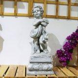 Статуи ангела херувимов сада магнезии для украшения сада