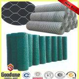 Rete metallica esagonale del ferro rivestito del PVC