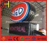 Quadro de avisos de anúncio inflável da promoção com impressão do logotipo