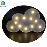 LEIDEN van de Lamp van de Nacht van de Modellering van de wolk Licht voor Decoratie