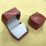 Commercio all'ingrosso di plastica poco costoso del contenitore di pacchetto dei monili del Leatherette di nuovo disegno