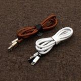 5V 2.4A PU abgedecktes Aufladungs-und Daten-Kabel für Samsung, iPhone