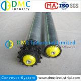 Doppelte Plastik-Kettenrad-Stahl-Rolle