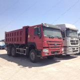 高品質のHOWO 6X4 290-371HPのダンプかダンプカートラック