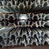 Haut de la porte d'utilisation efficace et pratique de la forme d'aluminium