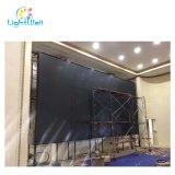 RGB LED SMD Panel de visualización interior con el módulo de plástico y gabinete