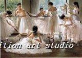 Olie Paiting (de Meisjes van het Ballet)