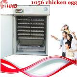 Incubadora de ovos de frango industrial totalmente automática de 1056 ovos (YZITE-10)
