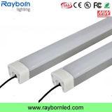 Водонепроницаемая IP65 1,2 м 50W 60Вт Светодиодные лампы Tri-Proof для склада